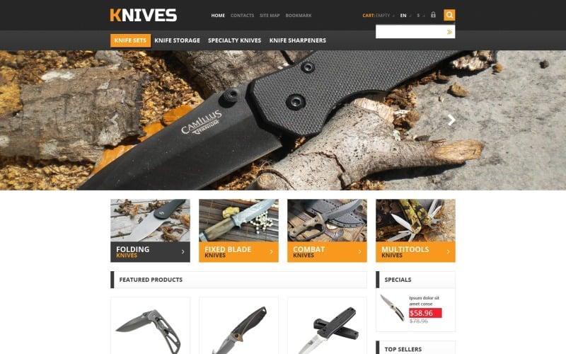 Responsive Knives Store PrestaShop Theme