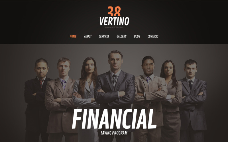 Solid Investment Company WordPress Theme
