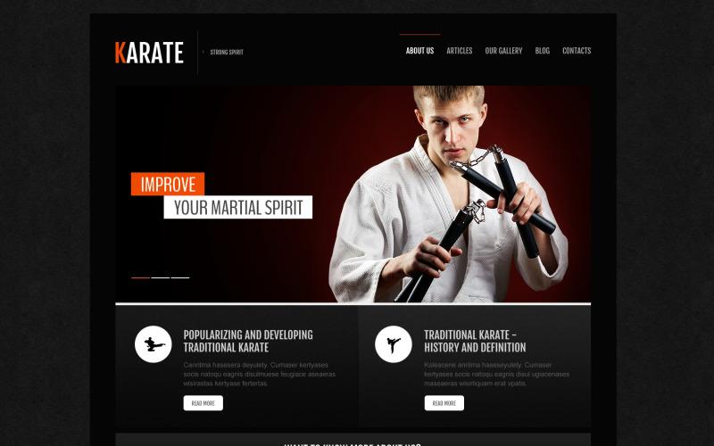 Karate Association Joomla Template