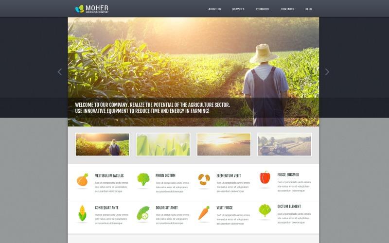 Tarım İşletmesi WordPress Teması