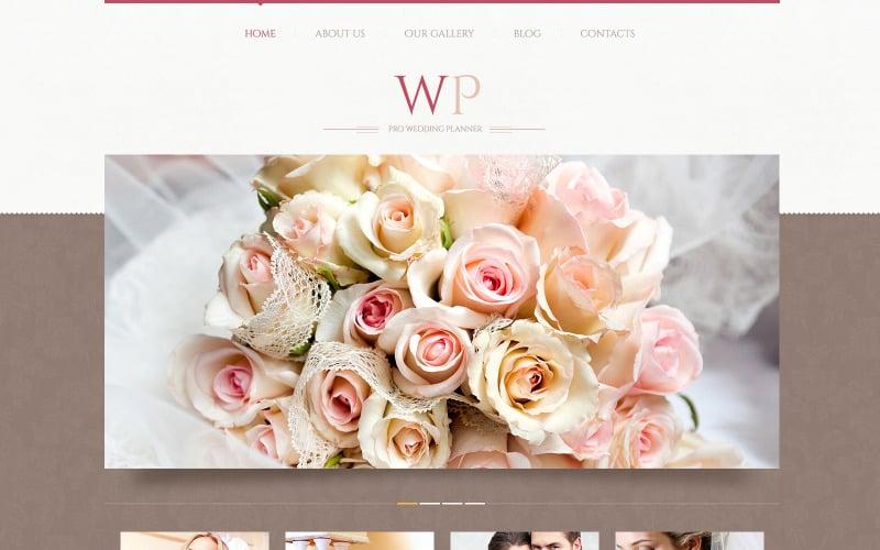 Тема WordPress для организации нежных свадеб