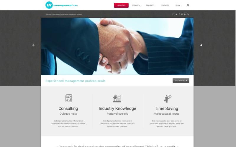 Management Campaigns WordPress Theme