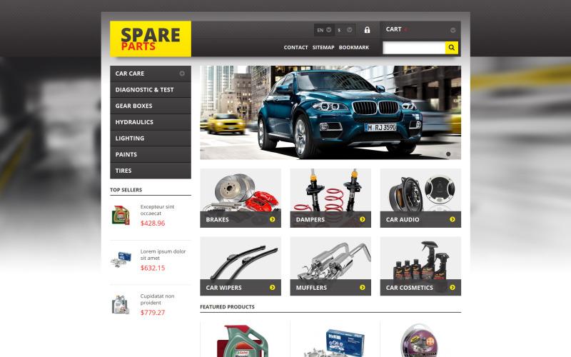 Spares for Any Car PrestaShop Theme