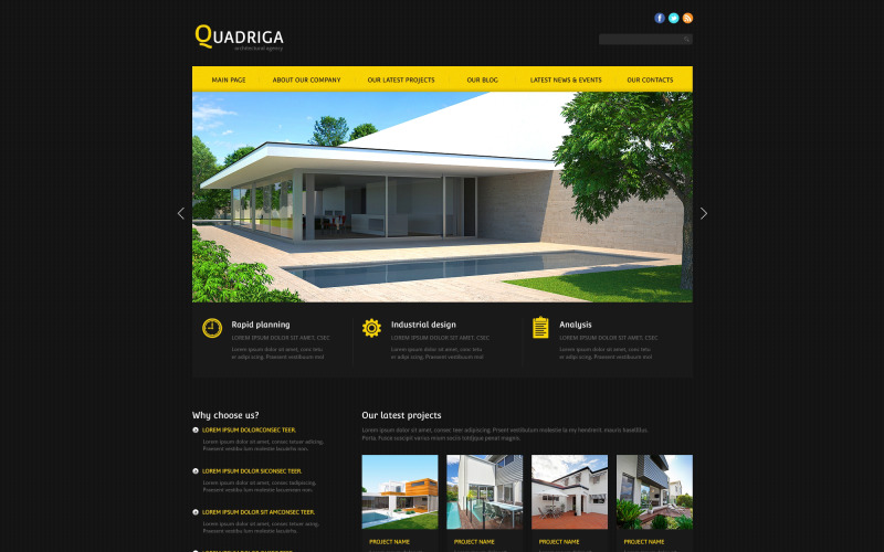 Architecture Agency Joomla Template
