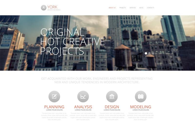 Architecture Ideas Drupal Template