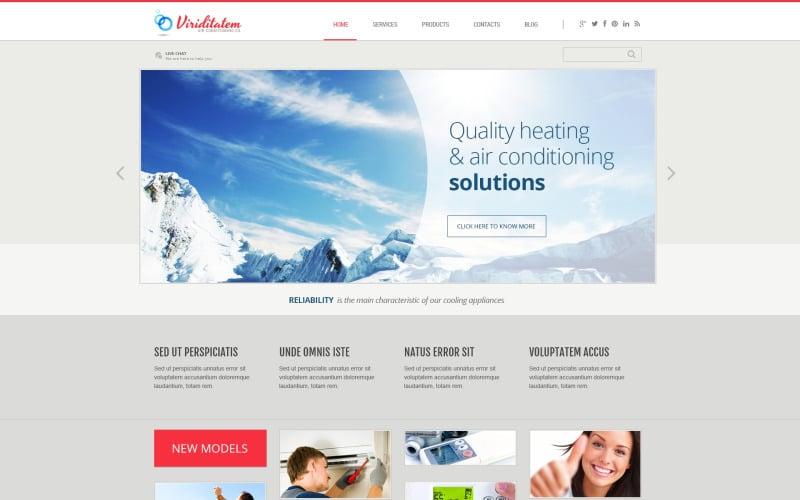 WordPress тема компании по кондиционированию воздуха