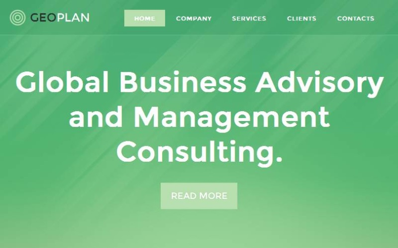 Management Company Facebook HTML CMS Template