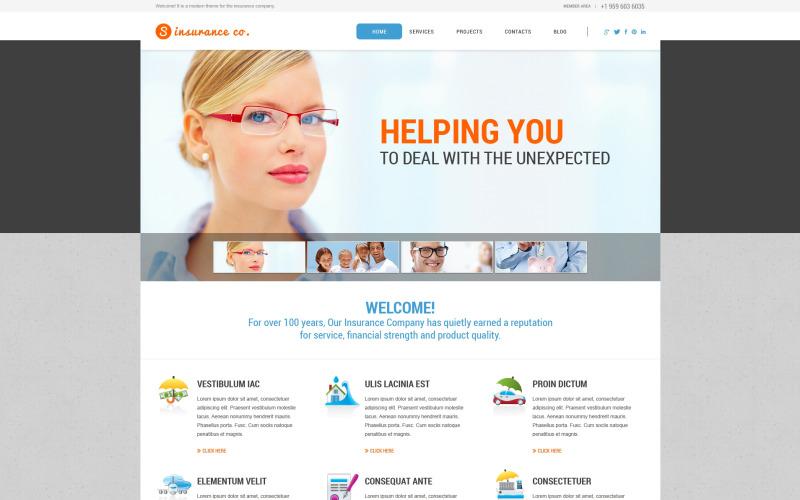 Sigorta Hizmetleri WordPress Teması