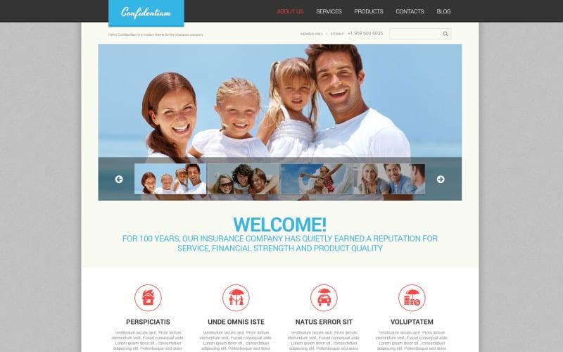 Effective Insurance WordPress Theme
