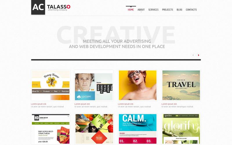 Reklam Ajansı WordPress Teması