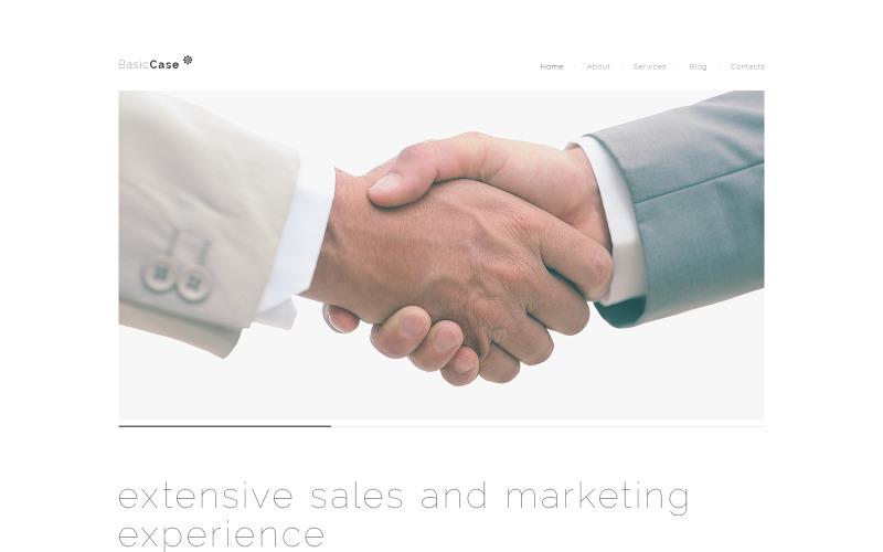 Тема WordPress для Smooth Marketing Agency