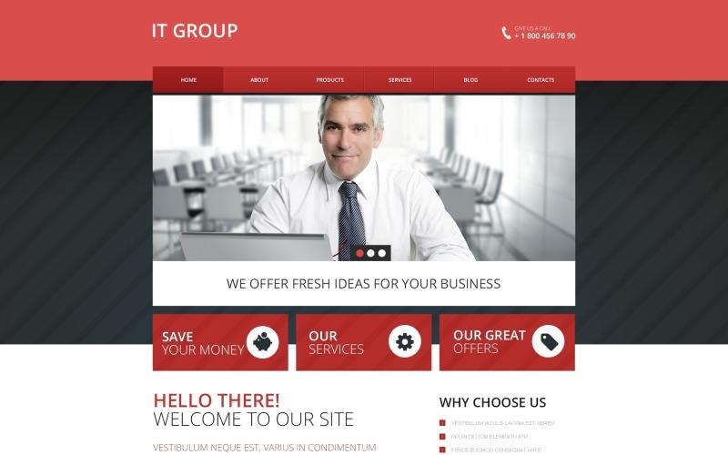 IT Group Drupal Template