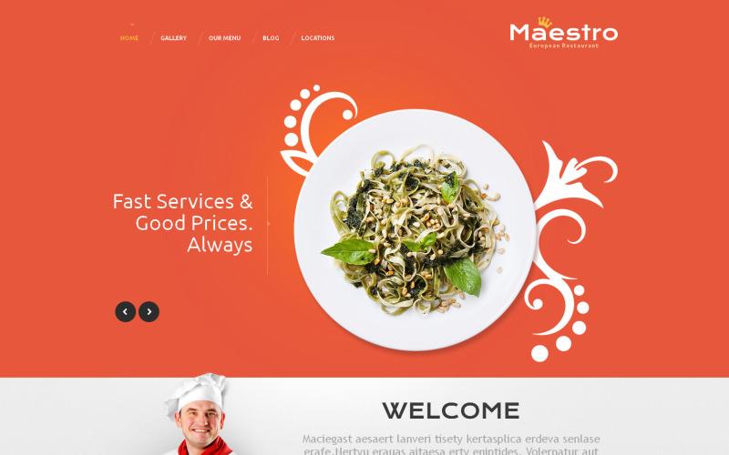 İyi Restoran WordPress Teması