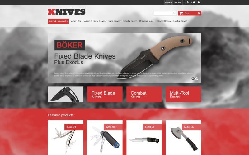 Multi-Purpose Knives PrestaShop Theme