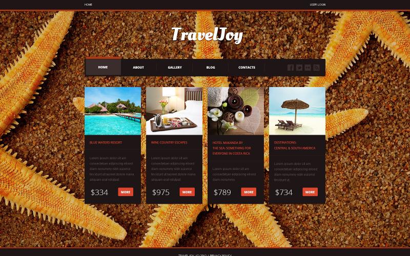 Travel Center Joomla Template