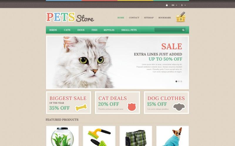 Responsive Pets Store PrestaShop Theme