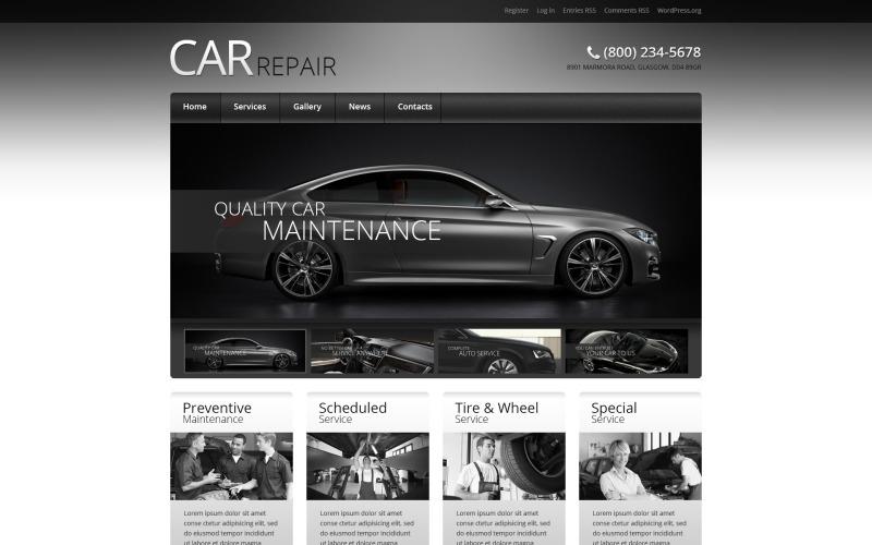 Araba Retro Elegance WordPress Teması