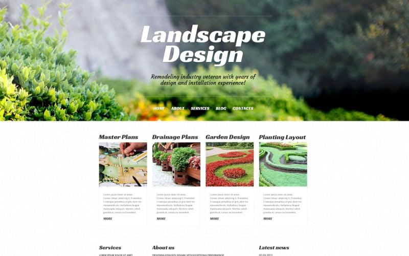 Landscape Design Alive WordPress Theme