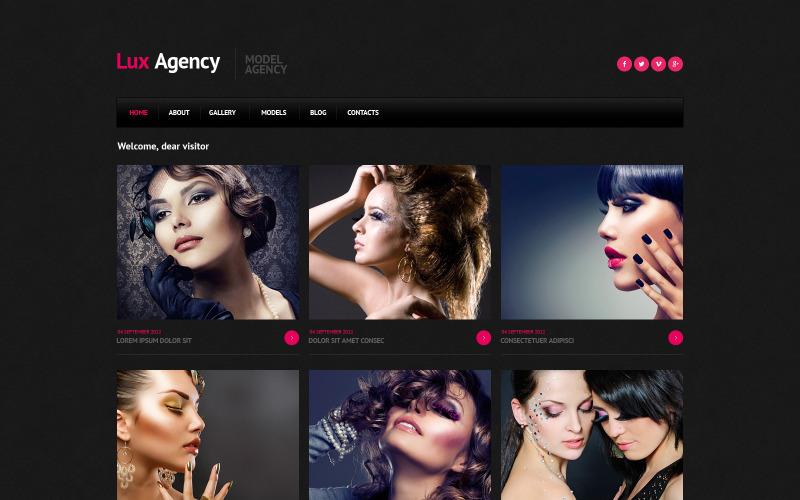Model Agency Responsive Joomla Template