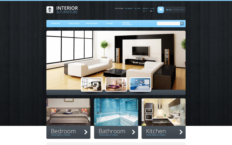 Interior & Furniture Magento Theme