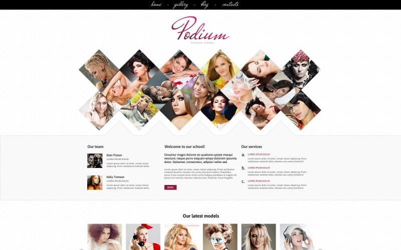 Model Agency for Originality Joomla Template