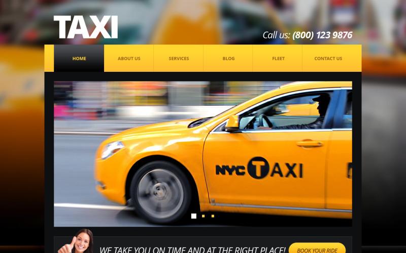 Taxi Center Joomla Template