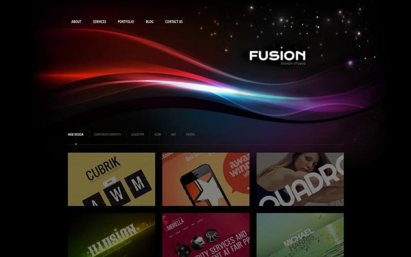 Futuristic Design Studio WordPress Theme