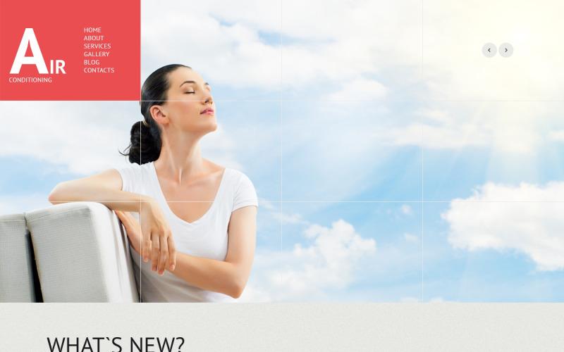 Air Conditioning Responsive WordPress Theme