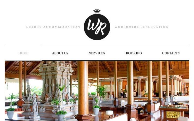 Hotels Facebook HTML CMS Template