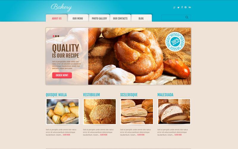 Köstliches Bäckerei-WordPress-Thema