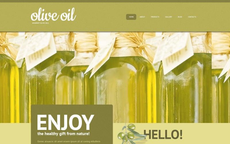 Olivolja WordPress-tema
