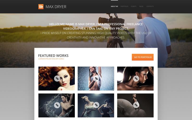 Pro Photograph Portfolio WordPress-tema