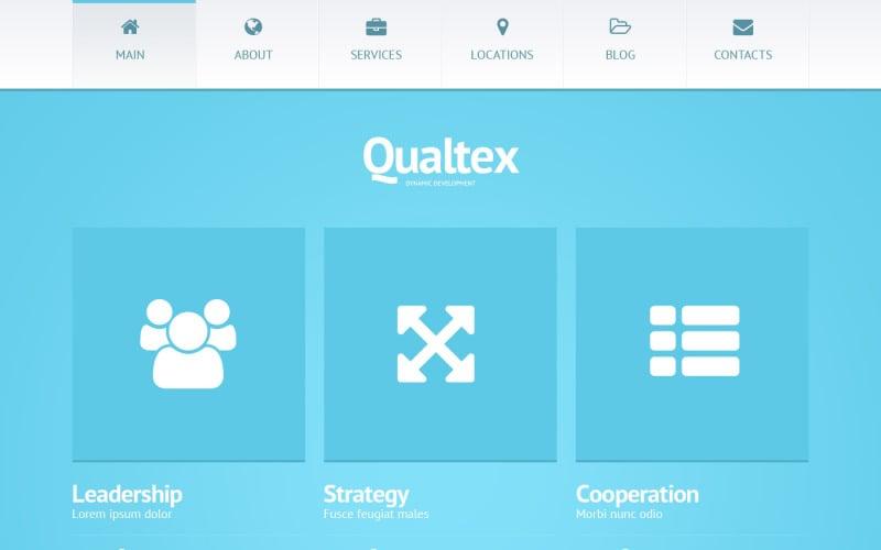 Qualtex WordPress-tema