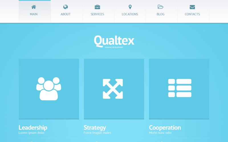 Qualtex WordPress Theme