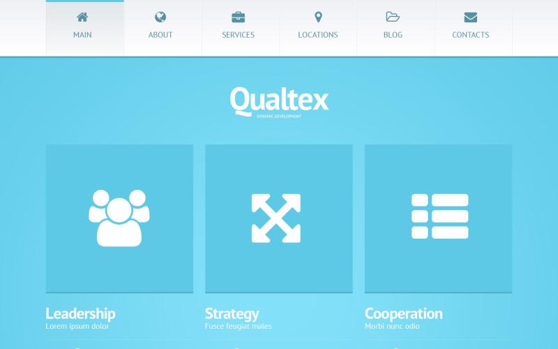 Тема Qualtex WordPress