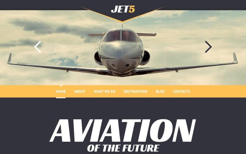 Тема WordPress для частных авиакомпаний