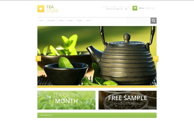 Bracing Tea Store Magento Theme