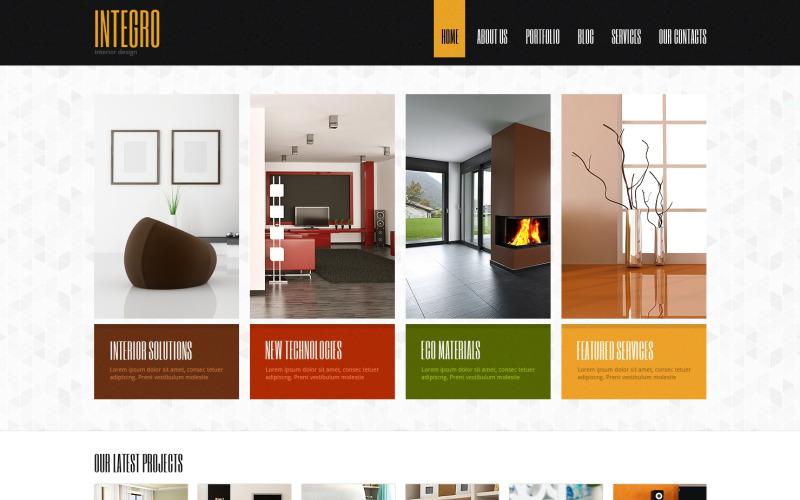Interior Design for Profit Joomla Template