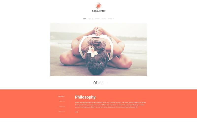 Yoga Responsive Website Template