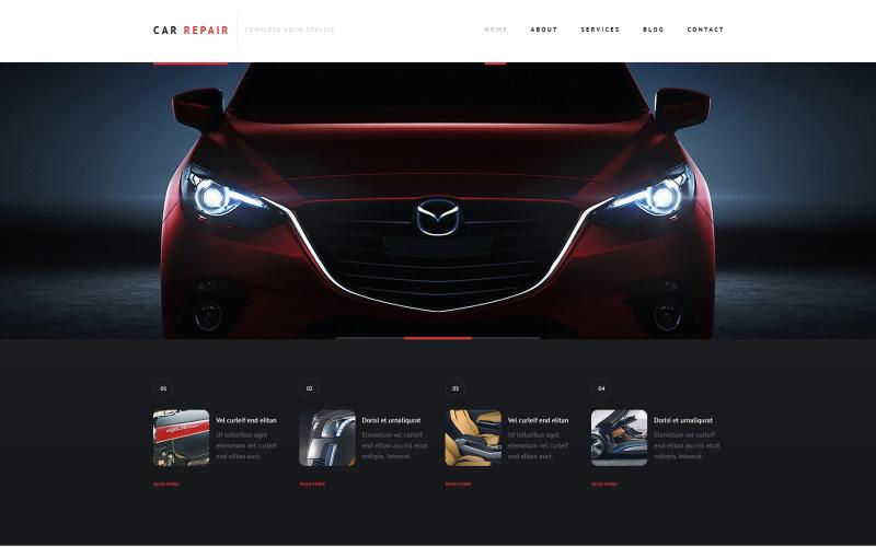 Duyarlı Araba Tamiri WordPress Teması