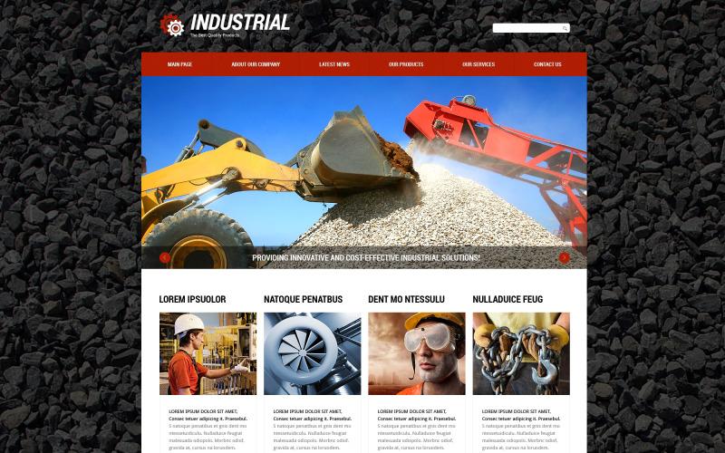 Industrial Beauty Joomla Template