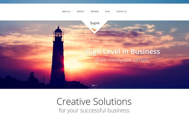 Marknadsföringsbyråns responsiva WordPress-tema