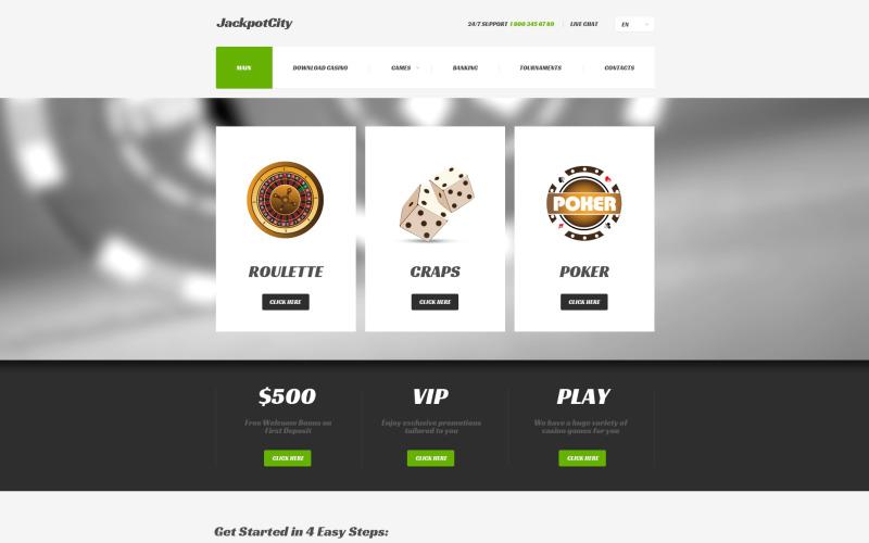 Online casino responsiv webbplatsmall