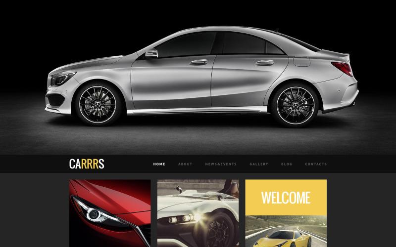 Uygun Anlaşma için Araba WordPress Teması