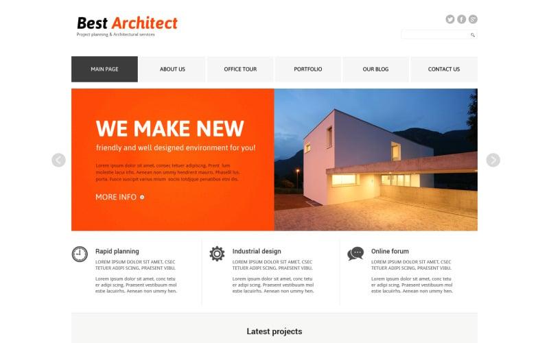 Arkitektur Responsive Joomla-mall
