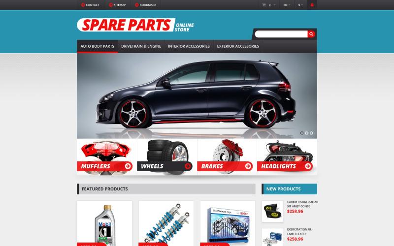 Auto Parts Responsive PrestaShop Theme