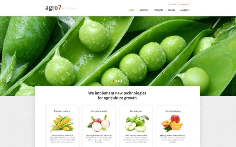 Farm Responsive webbplats mall