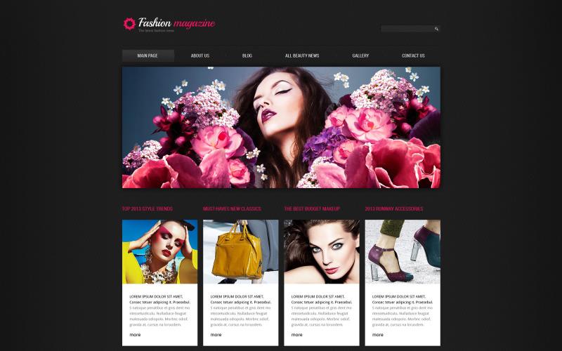 Modeblogg Responsive Joomla-mall
