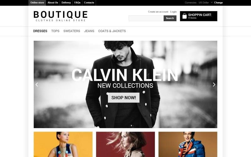 Online Boutique VirtueMart Template