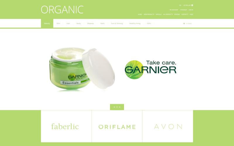 Organisk kosmetik ZenCart-mall
